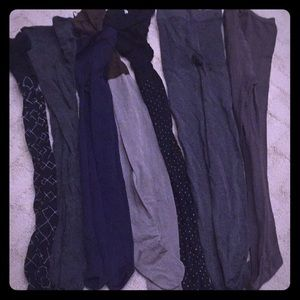 7 Pairs of Winter Tights